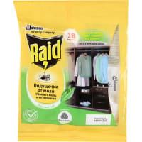 Подушечки от моли Raid зеленый чай