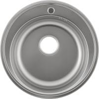 Мойка MAIDSINKS 51x51x17.5 см, лен, нержавеющая сталь