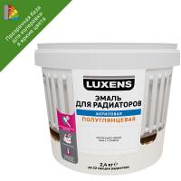 Эмаль для радиаторов Luxens прозрачная база C 2.4 кг