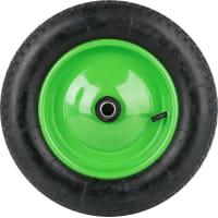 Колесо для тачки пневматическое Строймаш, размер 3.00-8, диаметр втулки 20 мм. D360 мм.