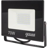 Прожектор светодиодный уличный Gauss SMD 70 Вт 6500 К IP65
