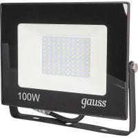 Прожектор светодиодный уличный Gauss SMD 100 Вт 6500 К IP65