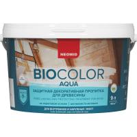 Антисептик Neomid Biocolor матовый сосна 9 л