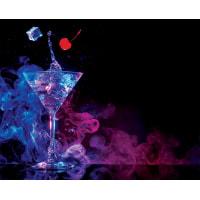 Картина на стекле «Клубный коктейль» 40х50 см