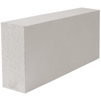 Блок газобетонный ЭКО 600х100х250 мм