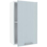 Шкаф навесной «Палома» 40x67.6х29 см, МДФ, цвет серо-зелёный
