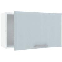 Шкаф навесной под вытяжку «Палома» 60x35х29 см, МДФ, цвет серо-зелёный
