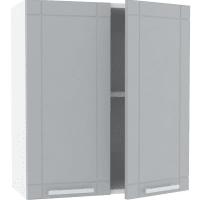 Шкаф навесной «Тортора» 60x67.6х29 см, МДФ, цвет серый