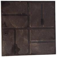 Плитка полимерпесчаная 250х250х20 мм коричневый