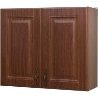 """Шкаф навесной """"Орех Аква"""" 80x68x27 см, ЛДСП, цвет коричневый"""
