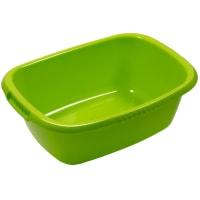Таз овальный «Водолей» 24 л пластик цвет салатовый