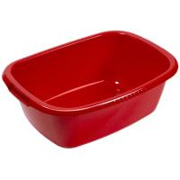 Таз овальный «Водолей» 32 л пластик цвет красный
