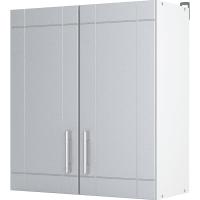 """Шкаф навесной """"Тортора"""" 60x67.6x29 см, МДФ, цвет серый"""