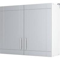 """Шкаф навесной """"Тортора"""" 80x67.6x29 см, МДФ, цвет серый"""