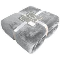 Плед «Мерчистон» 180х200 см микрофибра цвет серый