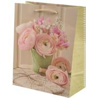 Пакет подарочный «Чайная роза» 18x23 см