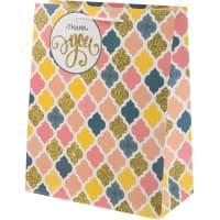 Пакет подарочный «Пастель» 26x32 см