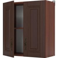 """Шкаф навесной """"Орех"""" 60х67.6х29 см, цвет тёмный орех"""