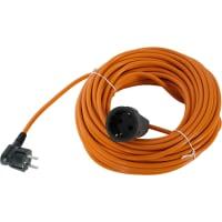 Удлинитель-шнур с заземлением 1 розетка 25 м 2200 Вт