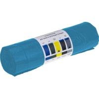 Мешки для мусора 160 л с завязками, цвет синий, 10 шт.