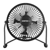 Вентилятор настольный Centek CT-5040 Black, 100 Вт