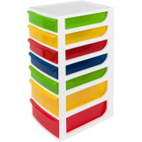 Органайзер для мелких игрушек А4 60х700х360 мм, 7 ящиков, пластик