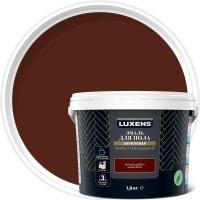 Эмаль для пола Luxens 1.9 кг цвет красное дерево
