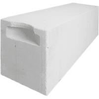 Блок газобетонный D500/625x250x200 белый
