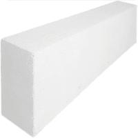 Блок газобетонный D500/625x250x100 белый