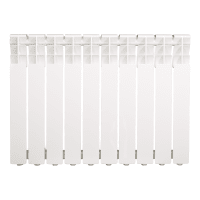 Радиатор Monlan RU B 500/80, 10 секций, алюминий