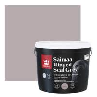Краска интерьерная Tikkurila Endangered Colour Сайменская нерпа, цвет серый 2.7 л