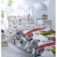 Комплект постельного белья «Bumblebee» полутораспальный бязь разноцветный