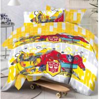 Комплект постельного белья «Tr team» полутораспальный бязь разноцветный