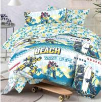 Комплект постельного белья «Tr wave» полутораспальный бязь разноцветный