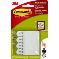 Застёжки для картин Command малые белые, 3 шт.