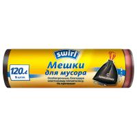 Мешки для мусора Swirl 120 л 8 шт 1705321
