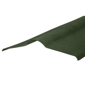 Элемент коньковый Ондулин цвет зелёный