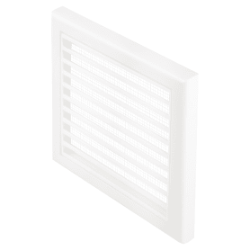 Решетка вентиляционная Вентс МВ 100 Вc, 154x154 мм, цвет белый