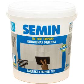 Шпаклёвка полимерная финишная Semin Sem Joint 25 кг
