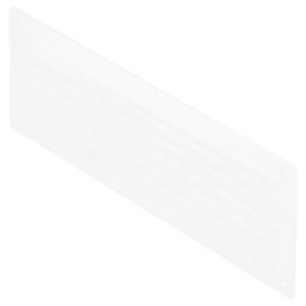 Решетка дверная вентиляционная Вентс МВ 350, 368x130 мм, цвет белый