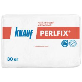 Клей гипсовый монтажный Knauf Перлфикс, 30 кг