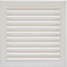 Решетка вентиляционная Вентс МВ 100 с, 154х154 мм, цвет белый