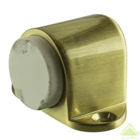 Стопор дверной Palladium 02, ЦАМ, цвет матовое золото