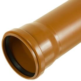 Труба канализационная наружная SN4 110х2000 мм