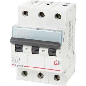 Выключатель автоматический Legrand 3 полюса 63 А