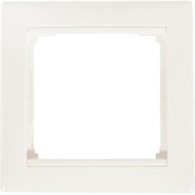 Рамка для розеток и выключателей Legrand Valena 1 пост, цвет белый