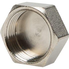 """Заглушка Valtec, внутренняя резьба, 3/4"""" мм, никелированная латунь"""