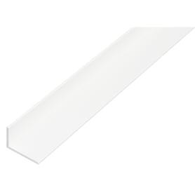 Уголок ПВХ 25x20x2x1000 мм, цвет белый
