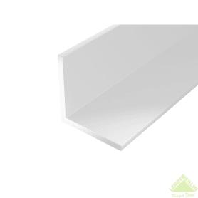 Уголок ПВХ 15x15x1.2x2000 мм, цвет белый