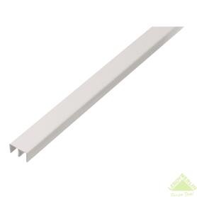 Ш-Профиль верхний Gah Alberts 6.5x10x2000 мм ПВХ цвет белый